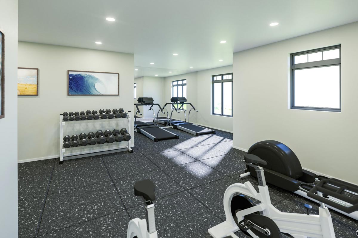 Redview Condos Winnipeg Gym