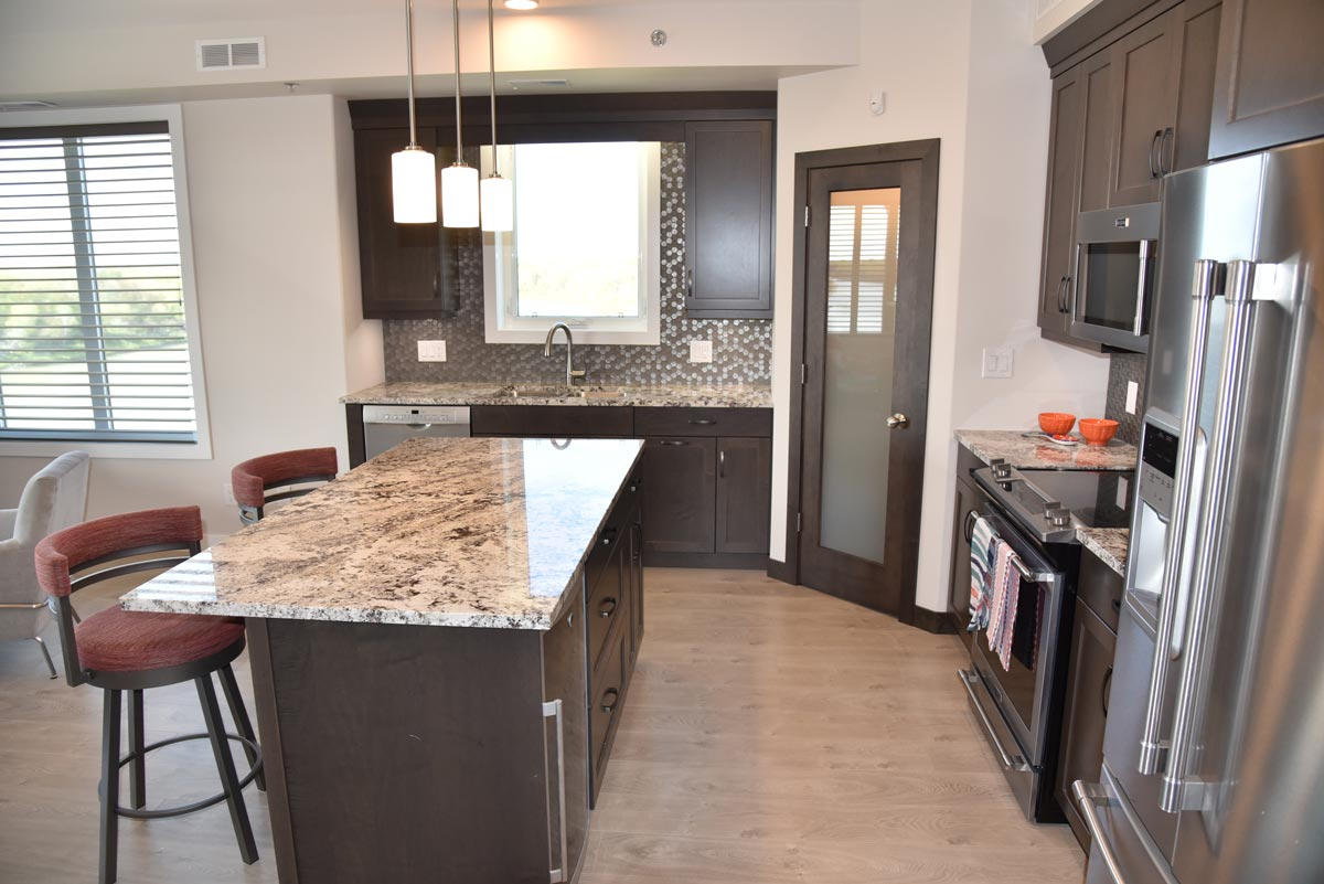 Redview Condos Winnipeg Kitchen